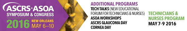 2016 ASCRS·ASOA Symposium and Congress