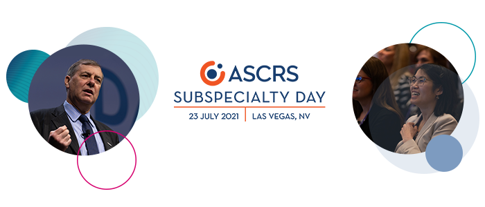 2021 ASCRS Sub-Specialty Day